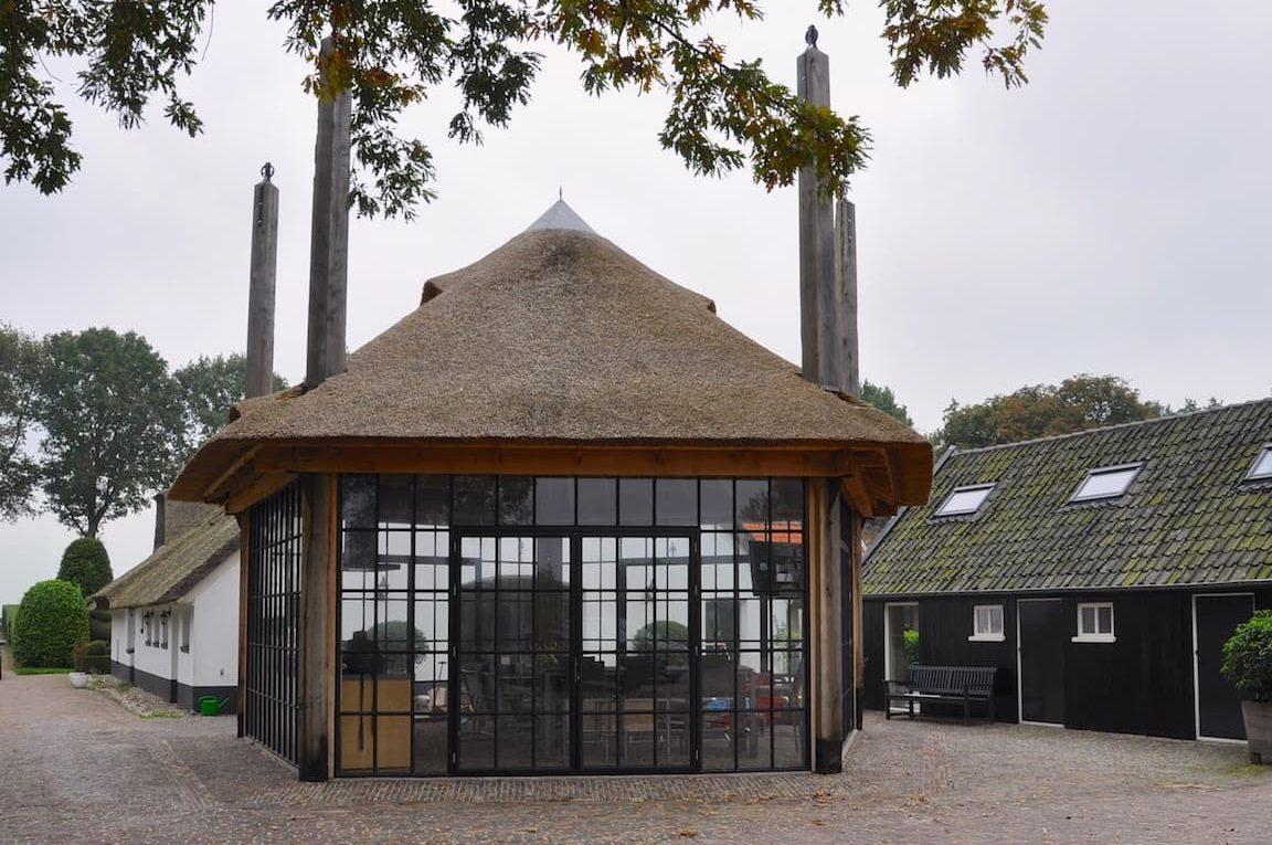 authentieke 5 roedige hooiberg met lieren