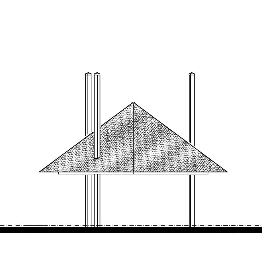 tekening 3 roedige hooiberg